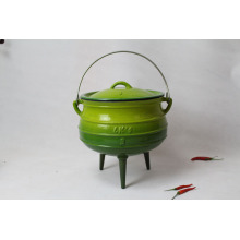 Enamel Cast Iron Potjie for cooking
