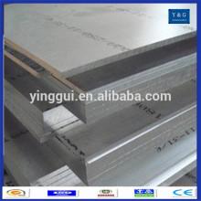 China 5754 preço da folha de liga de alumínio marinho