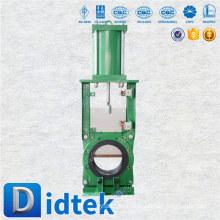 Didtek European Quality pneumatische Umschaltung Messer Schieber