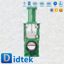Didtek European Quality pneumatic switchover knife gate valve