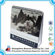 Calendario 2015, impresión de calendario de escritorio