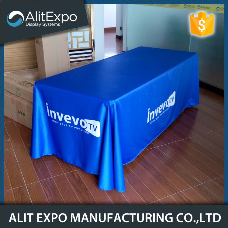 Handmade decorative branded table cloth