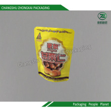 Stand up Packaging for Food with Ziplock