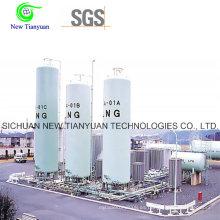 31.63m3 Volumen Tipo vertical Container de tanque de GNL