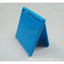 Small plastic square makeup mirror foldable with cheap price