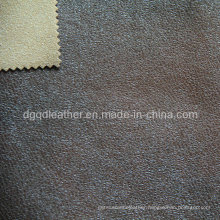 Eco-Friendly Breathable PU Furniture Leather (QDL-FB0044)
