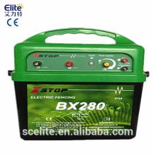 солнечный электрический забор зарядное устройство/солнечной электрический забор антидепрессант для больших ранчо/импульсный электрический забор