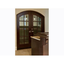 Energy Efficient Exterior Timber Doors , Solid / Natural Wood