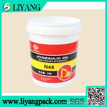 Película de transferencia de calor para cubo de aceite hidráulico