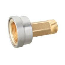 T120 Brass Fitting for Gas Pipeline Connector with Gas Meter