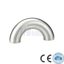180 Deg Welded Sanitary Stainless Steel Elbow