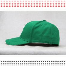 Зеленый Вышивка Плоский Brim, Плоский Шлем Snapback