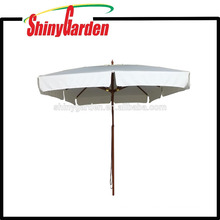 3*3M Patio Beech Square Umbrella with plastic runner,hub and final top 8 Ribs