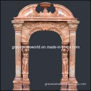 Carved Marble Doorway, Stone Door Surrounds (GS-D-002)