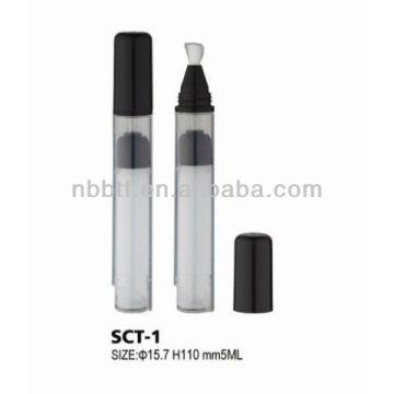 Empty Nail polish remover bottle