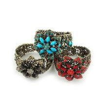 Nice flores pulseiras de resina Pulseiras BA25