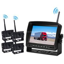 Установленные на транспортном средстве дисплеи Система резервного видеонаблюдения с ИК-подсветкой ночного видения с возможностью многократного просмотра 7 '' Беспроводной автомобильный монитор