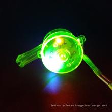 silbato led plastico para juguete