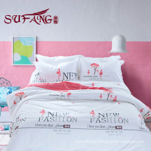 Factory Directly High Quality Hotel Bedding comforter cotton print bedding sets