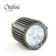 Boîtier personnalisé pour lampes en fonte d'aluminium