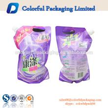 China Getränk-Ziplockbeutel-Gewohnheitstüllenbeutel 8oz 12o 16oz Verpackung für Getränkplastiktasche