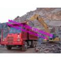 HOWO 6X4 LHD 371HP 70 Mining Dump Truck