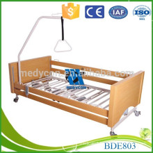 Noiseless casters beautiful MDF board modern hospital bed