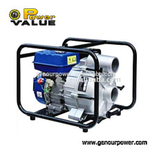Power Value 3inch sewage water pump, dirty water suction pump with 6.5hp engine