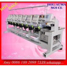 Holiauma acht Kopf 15 Nadel Stickmaschine / Kappe T-Shirt Kleidungsstück Computer Stickmaschine