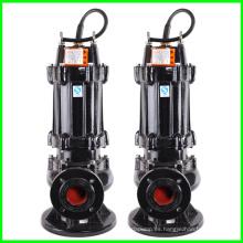 Bomba sumergible para aguas residuales de Qw no es fácil de usar y la obstrucción de tuberías