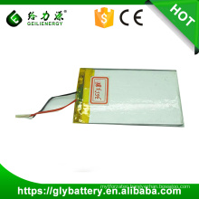 2500mah High capacity 355381 3.7v Li Polymer Rechargeble Battery