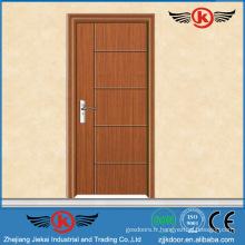JK-P9046 JieKai salle de bain pvc kerala porte prix / pvc porte fenêtre accessoires / pvc battant porte
