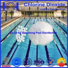 Désinfectant chimique en dioxyde de chlore et piscine à haute efficacité