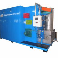 Máquina de limpieza de calor de capa de revestimiento para piezas de metal
