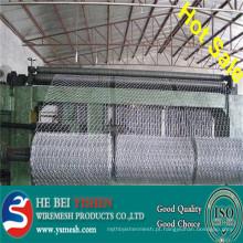 Hot-sale Mesh gavião galvanizado / malha gabion PVC / malha gabion hexagonal