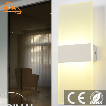 2016 venda quente luz cor opcional 6W LED parede extravagante luz