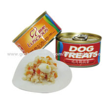 Chicken with Egg, Canned Food for Dog and Cat