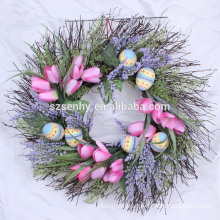 Artificial berry wreaths,artificial fruit wreath,artificial evergreen wreaths