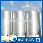 China grain silo manufacturer storage steel silo with Sweep auger