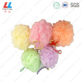 Chinese tide colorful sponge ball