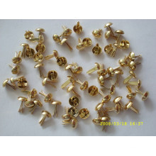 promotional custom metal brads metal claw beads