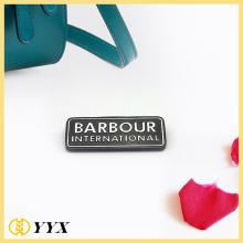 Factory zinc alloy metal name badges wholesale