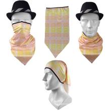 Hot sale outdoor custom breathable fashion triangular bandana for your style logo