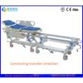 Медицинский инструмент больницы Подключение транспорта Носилки