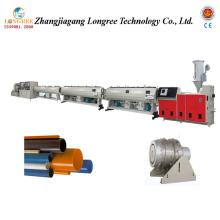 Línea de extrusión de tubería de HDPE de plástico (16-160 mm)