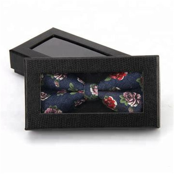 Black Gift Cardboard Tie Wholesale