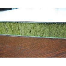 Painel composto de lã e favo de mel de 25mm