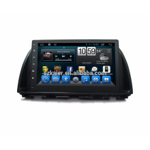 Reprodutor de DVD do reprodutor de DVD do carro do núcleo de Qcta da tela de toque completo do andróide 7.1 / reprodutor de DVD do carro para o mazda cx-5 2015 2014