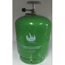 Bouteille de gaz GPL & réservoir d'essence en acier (5kg)