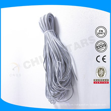 1,3 a 3 cm de plata gris o tubería reflectante de colores para la ropa